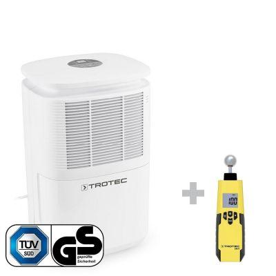Luftentfeuchter TTK 30 E + Feuchtemessgerät / Feuchteindikator BM31