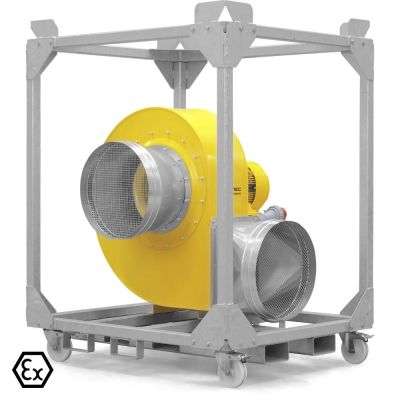 Radialventilator TFV 600 Ex