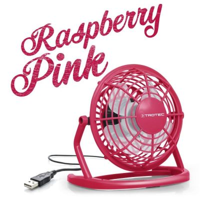 USB Ventilator Raspberry Pink TVE 1P