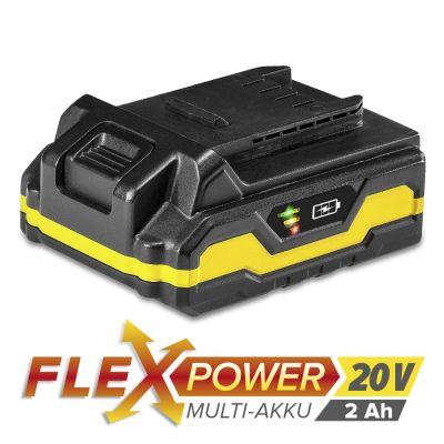 Zusatz-Akku Flexpower 20V 2,0 Ah