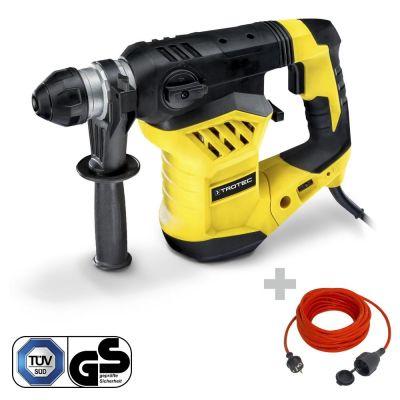 Bohrhammer / Meißelhammer PRDS 11‑230V + Qualitäts-Verlängerungskabel 230V