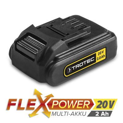 Zusatz-Akku Flexpower 20V 2,0 Ah für PSCS 10-20V, PHDS 10-20V, PJSS 10-20V