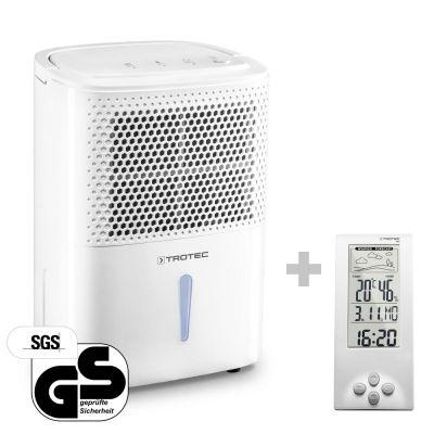 Luftentfeuchter TTK 26 E + Design-Wetterstation BZ06