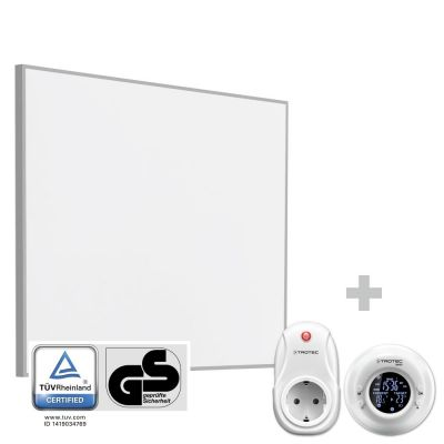 Infrarot-Heizplatte / Infrarotheizung TIH 400 S + Funk-Thermostat BN35