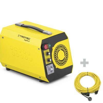 Geruchsbeseitiger AirgoPro 8 + Profi-Verlängerungskabel 20 m / 230 V / 2,5 mm²