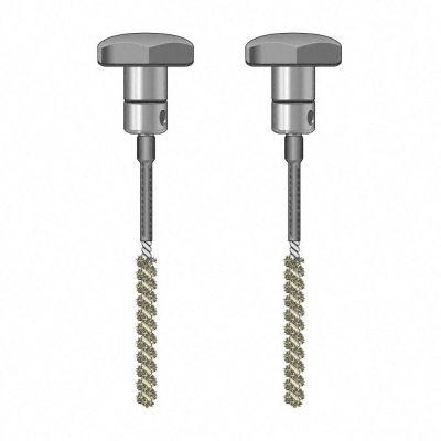 TS 020/110 Bürsten-Elektrodenpaar, isoliert