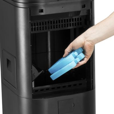 Aircooler, Luftkühler, Luftbefeuchter PAE 50 + Design-Wetterstation BZ06