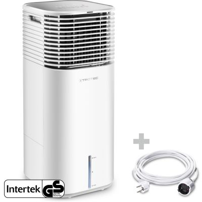 Aircooler, Luftkühler, Luftbefeuchter PAE 49 + PVC-Verlängerungskabel