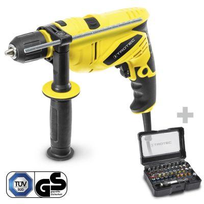 Schlagbohrmaschine PHDS 10-230V + Schrauber-Bitsatz 32-teilig