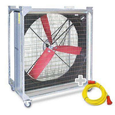 Windmaschine TTW 45000 + Profi-Verlängerungskabel 20m / 400 V / 2,5mm²