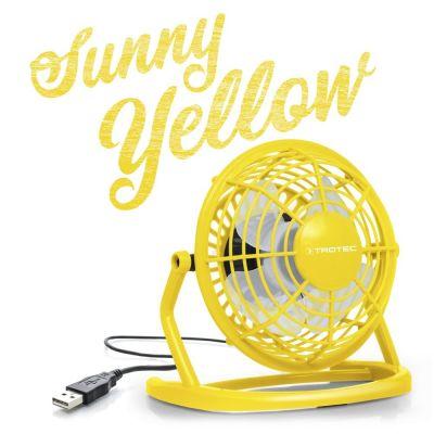 USB Ventilator Sunny Yellow TVE 1Y