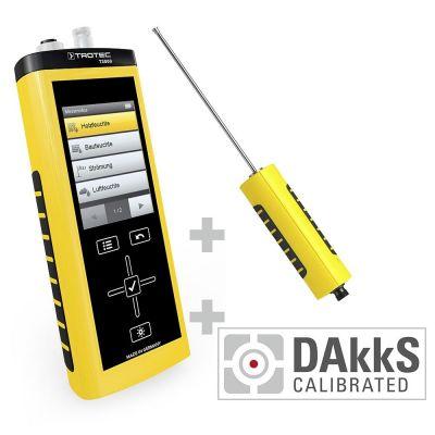 T3000 Multifunktionsmessgerät + TS 131/150 SDI Temperatursensor - Kalibriert nach DAkkS D.2102