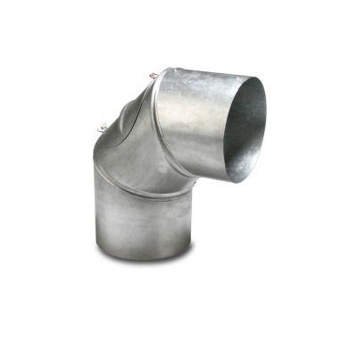Abgasrohr Bogen 90° 120 mm