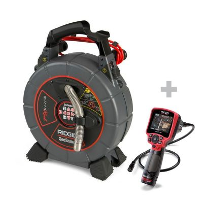 Rohrkamera SeeSnake microReel + Digital-Inspektionskamera micro CA-350