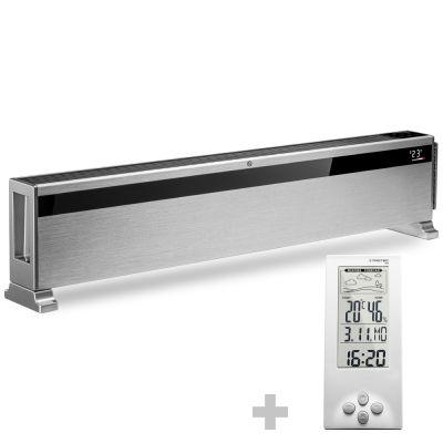 Design-Konvektor TCH 1500 E + Design-Wetterstation BZ06