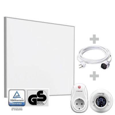 Infrarot-Heizplatte TIH 400 S inkl. Funk-Thermostat BN35 und PVC-Verlängerungskabel