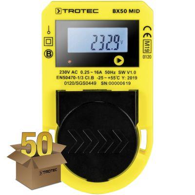 Energieverbrauchsmessgerät BX50 MID, 50er Pack
