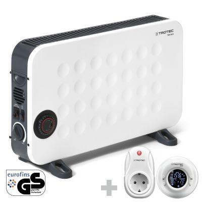 Design-Konvektor TCH 26 E + Funk-Thermostat BN35