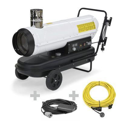 Ölheizgebläse IDE 30 + Profi-Verlängerungskabel + Ext. Thermostat