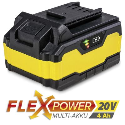 Zusatz-Akku Flexpower 20V 4,0 Ah