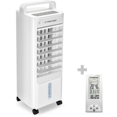 Aircooler, Luftkühler, Luftbefeuchter PAE 12 + Design-Wetterstation BZ06