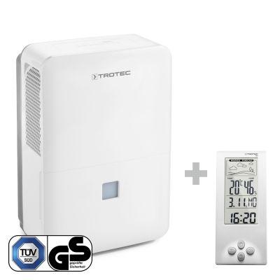 Luftentfeuchter TTK 127 E + Design-Wetterstation BZ06