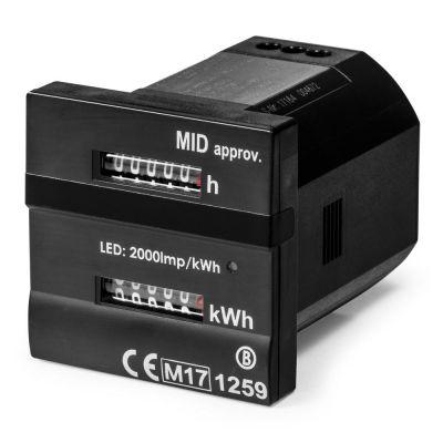 Dualzähler - Für Betriebs- und Kilowattstunden MID-konform