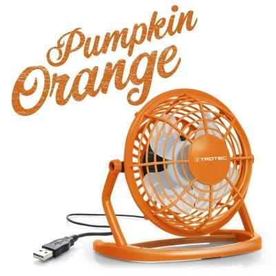 USB Ventilator Pumpkin Orange TVE 1O