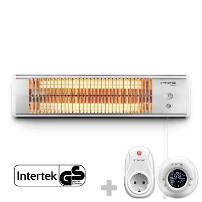 Infrarot Heizstrahler IR 1200 S + Funk-Thermostat BN35