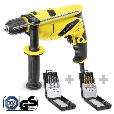 Schlagbohrmaschine PHDS 10-230V + Holzbohrerset + Metallbohrerset