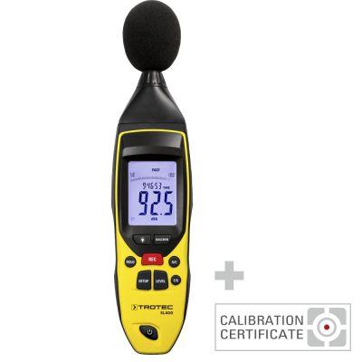 Schallpegel-Messgerät SL400 inkl. Kalibrier-Zertifikat
