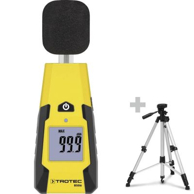 Schallpegel-Messgerät BS06 + Dreibein-Universalstativ