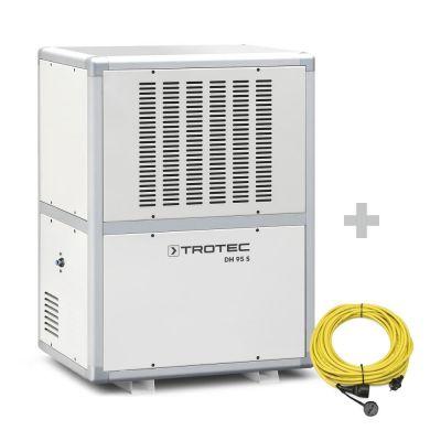 Industrieentfeuchter DH 95 S + Profi-Verlängerungskabel 20 m / 230 V / 2,5 mm²