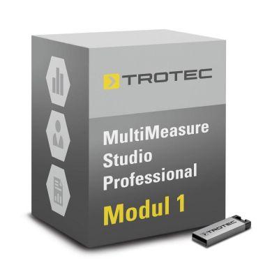Software MultiMeasure Studio Pro-Modul 1 für Leckortung, Bauwerks-/Schimmeldiagnostik