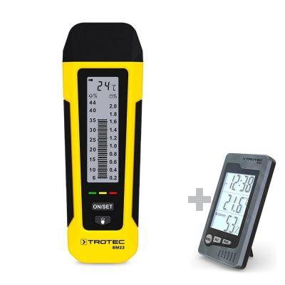 Feuchtemessgerät BM22 + Raum-Thermohygrometer BZ05
