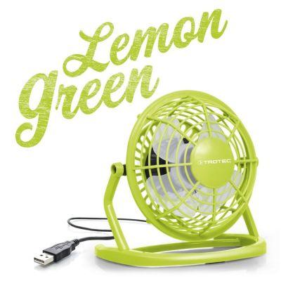 USB Ventilator Lemon Green TVE 1L