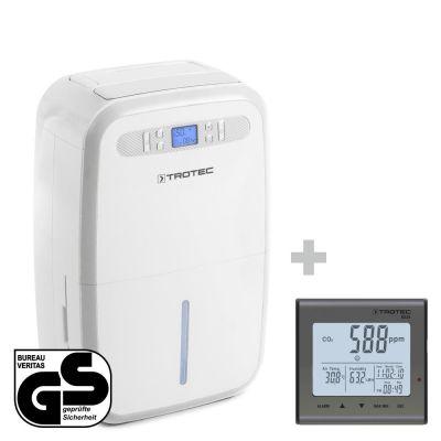Luftentfeuchter TTK 95 E + CO2-Luftqualitätsmonitor BZ25