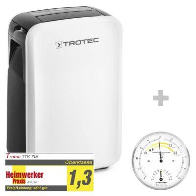 Luftentfeuchter TTK 71 E + Thermohygrometer BZ15M