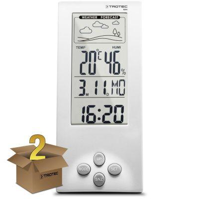 Design-Wetterstation BZ06 im 2er Paket