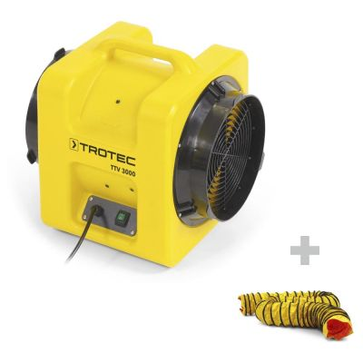 Förderventilator TTV 3000 + 1x SP-T Schlauch 305 mm