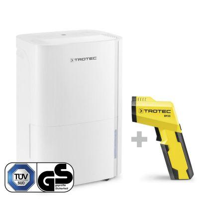 Luftentfeuchter TTK 54 E + Pyrometer-Taupunktscanner BP25
