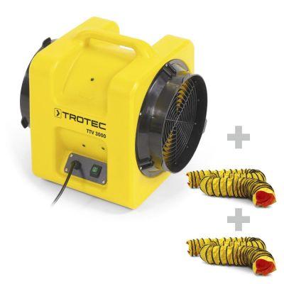 Förderventilator TTV 3000 + 2x SP-T Schlauch 305 mm